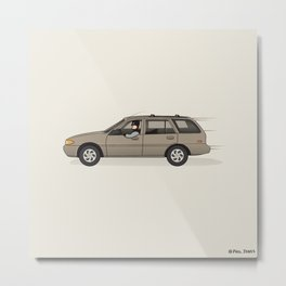 Mobile in the Shop Metal Print