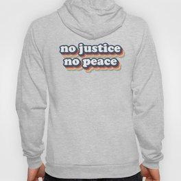No Justice No Peace BLM 2020 Hoody