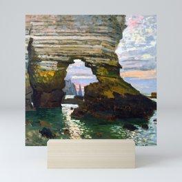 Claude Monet Etretat Mini Art Print