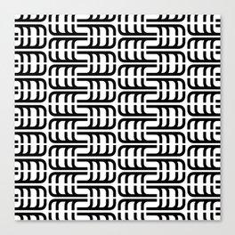 J Pattern Canvas Print