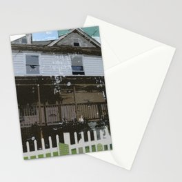 adams family house Stationery Cards