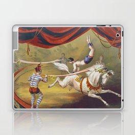Banner Act - Vintage Circus Art, 1873 Laptop & iPad Skin