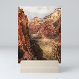Scout Lookout, Zion National Park Mini Art Print
