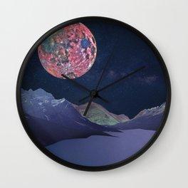 Moongazing Wall Clock
