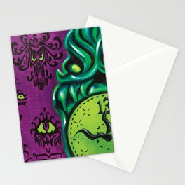 "Disneyland Haunted Mansion inspired ""Wall-To-Wall Creeps No.3""  Stationery Cards"