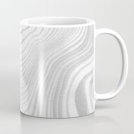 Sanyu - spilled ink abstract marble minimal topography black and white grey art Coffee Mug