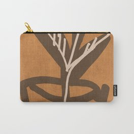 Abstract Art Plant Carry-All Pouch