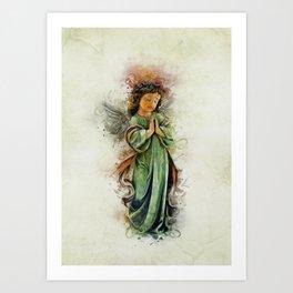 An Angels Love Art Print