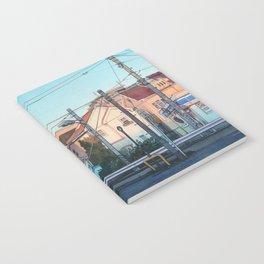 Evening street Notebook
