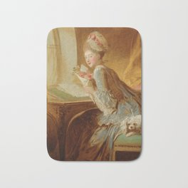 "Jean Honoré Fragonard (1732–1806) ""The Love Letter"" Bath Mat"