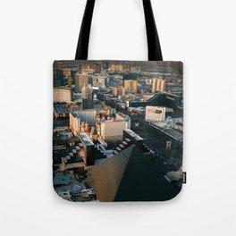 Above Las Vegas Valley Tote Bag