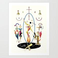 resurrectio Art Print