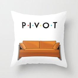 Pivot Friends Throw Pillow