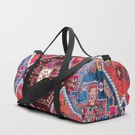 Malatya  Antique Turkish Rug Print Duffle Bag