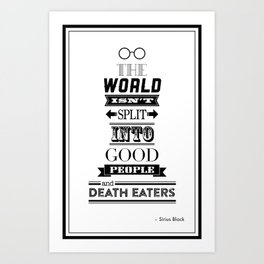 HP Quotes - Order of the Phoenix Art Print