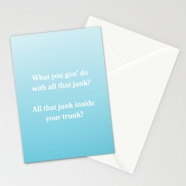 My Humps  Stationery Cards