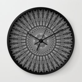 """""""Dream Snare"""", by Brock Springstead Wall Clock"""