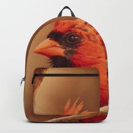Male Northern Cardinal Backpack