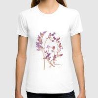botanical T-shirts featuring Botanical 1 by JoanAHamilton
