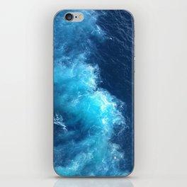 Ocean Blue Waves iPhone Skin