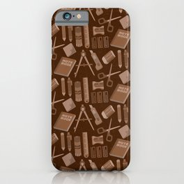 Stationery(Ver.2) iPhone Case