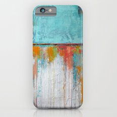 Coral Reef - Textured Abstract Art - Acrylic on Canvas Painting iPhone 6s Slim Case