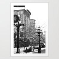 historic gastown  Art Print