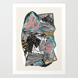 Cosmic geology Art Print