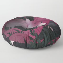 Spirits of the forest Floor Pillow