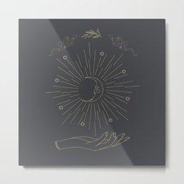 Shining Moon Metal Print