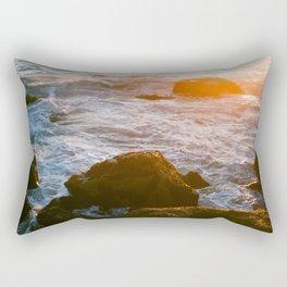 cape sunset Rectangular Pillow
