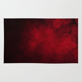 Red Spotted Rug