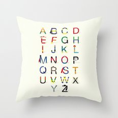 ABC SH Throw Pillow