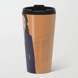 Elaine Benes // Seinfeld // Graphic Design Travel Mug