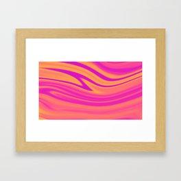 Slush Framed Art Print