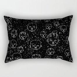 Dolls #5 Rectangular Pillow