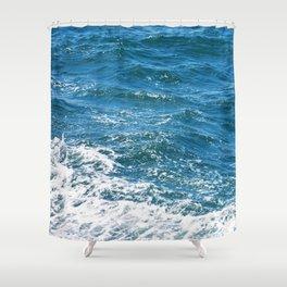 Ocean Wave Heading Toward Shore Shower Curtain