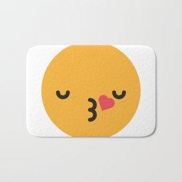 Emojis: Kiss Bath Mat