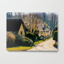 Charming Cotswolds. Metal Print
