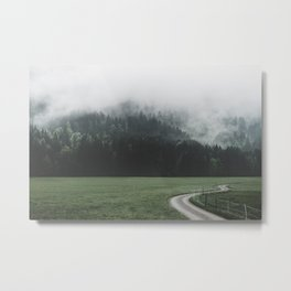 road - Landscape Photography Metal Print