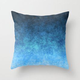 stained fantasy glow gradient Throw Pillow