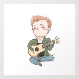Tiny Dean (tfw series) Art Print