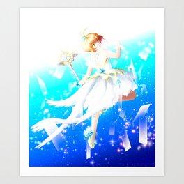 Card Captor Sakura - Clear Card Art Print