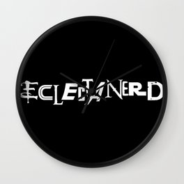 Eclectanerd Wall Clock