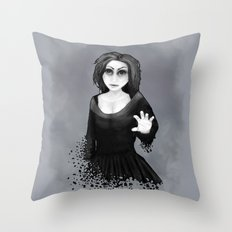 Disintegration Throw Pillow