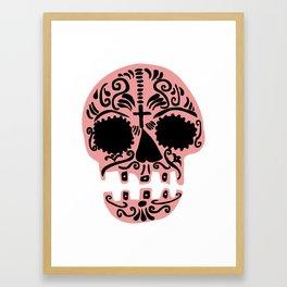 Sweet sugar skull Framed Art Print