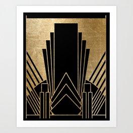 Art deco design Art Print