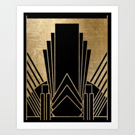 Art deco design Kunstdrucke
