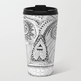 Sugar Skull 2.0 Metal Travel Mug