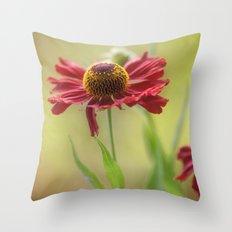 Heleniums Throw Pillow